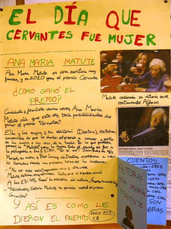 El día que Cervantes fue mujer